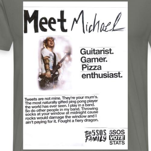 She Looks So Perfect - Meet Michael COLORBLOCK - Men's Premium T-Shirt