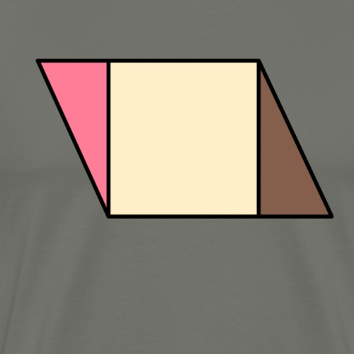 neapolitan ice cream - Men's Premium T-Shirt