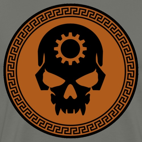 GEARHEAD Combat logo - Men's Premium T-Shirt