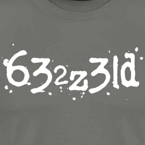 Blessed - Typed Characters - PrimeMeTee - Men's Premium T-Shirt