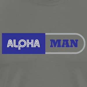 ALPHA MEN - Men's Premium T-Shirt