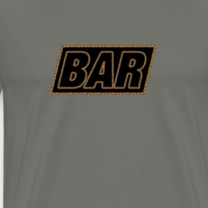 Bar Rope Edge - Men's Premium T-Shirt