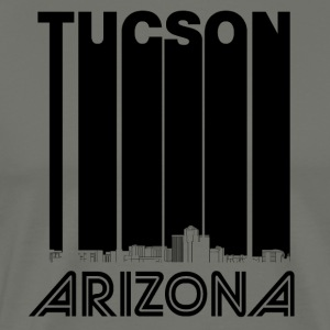Retro Tucson Arizona Skyline - Men's Premium T-Shirt
