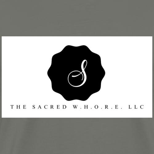 The Sacred W.H.O.R.E. LLC (Logo3) - Men's Premium T-Shirt