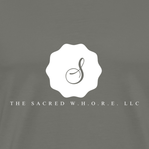 The Sacred W.H.O.R.E LLC (Logo4) - Men's Premium T-Shirt