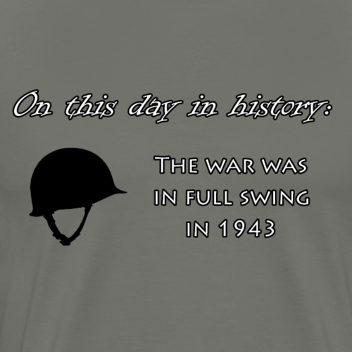 On This Day in History Bag Test - Men's Premium T-Shirt