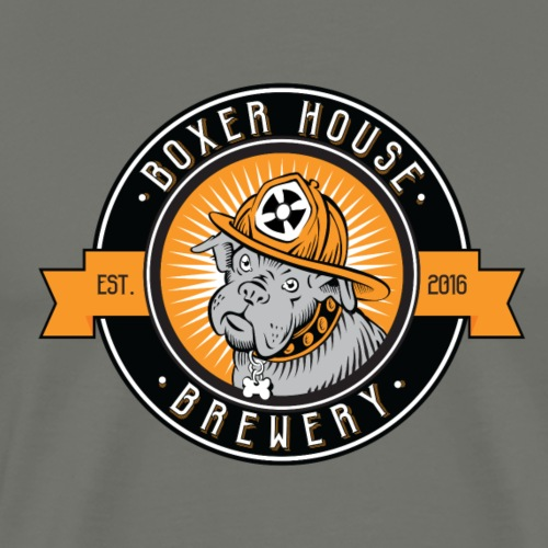 Boxer House Brewing Logo - Men's Premium T-Shirt