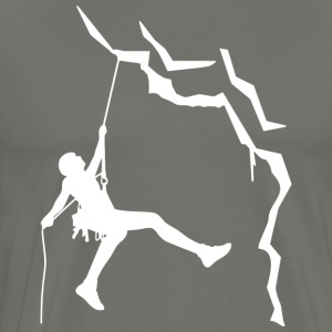 Climbing is my passion - Men's Premium T-Shirt