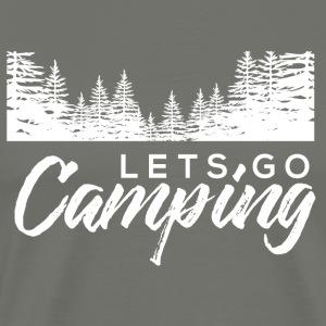 lets go camping - Men's Premium T-Shirt