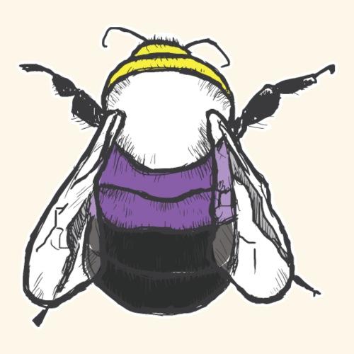 Nonbinary Bee - Men's Premium T-Shirt
