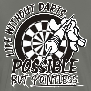 Life Without Darts - Men's Premium T-Shirt