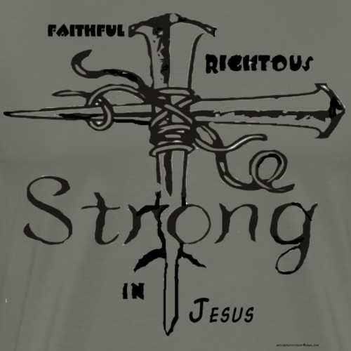 I AM strong in christ - Men's Premium T-Shirt