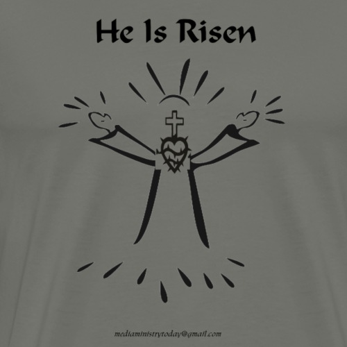 PNG he is risen - Men's Premium T-Shirt