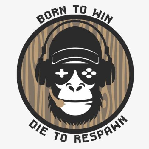 Born to Win, Die to respawn - Men's Premium T-Shirt