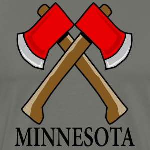 Hatchet Minnesota - Men's Premium T-Shirt