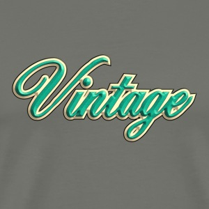 vintage green - Men's Premium T-Shirt