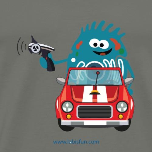Electric Car - Men's Premium T-Shirt