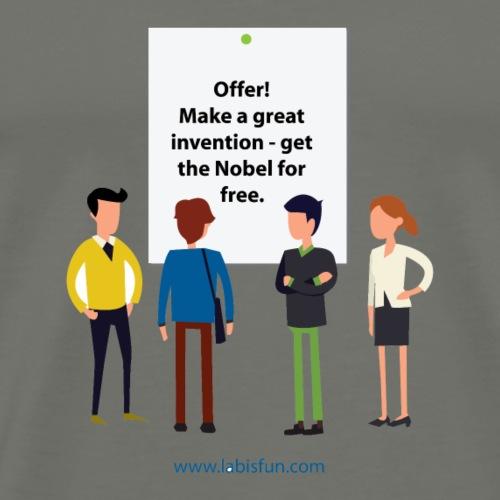 Nobel offer - Men's Premium T-Shirt