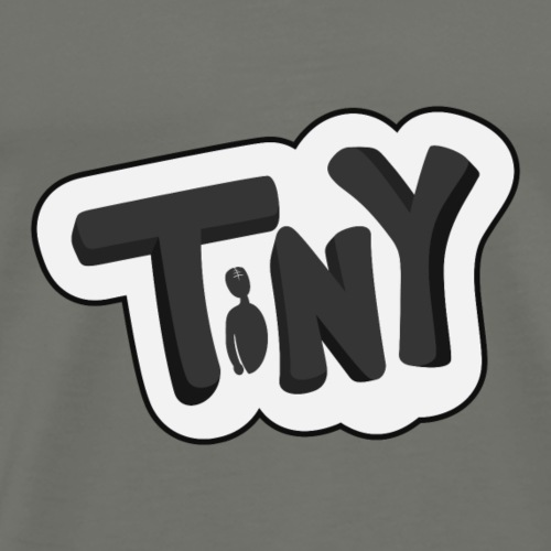 Tiny-Logo-Inverted - Men's Premium T-Shirt
