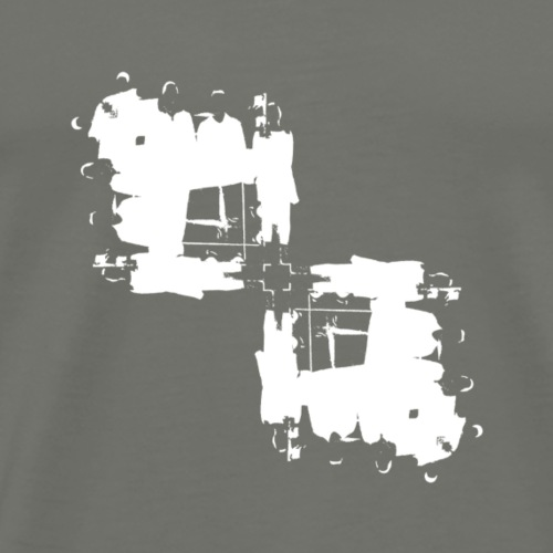 DDX Rorschach Left Slant - Men's Premium T-Shirt