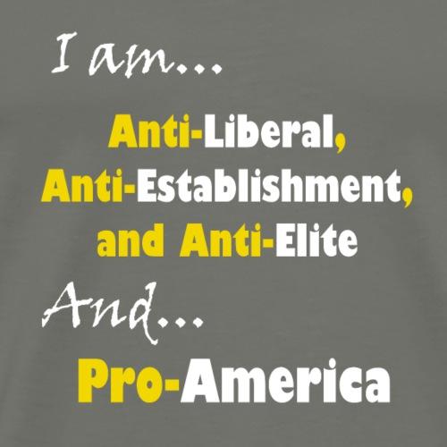 anti-pro - Men's Premium T-Shirt