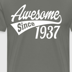 Awesome Since 1937 - Men's Premium T-Shirt