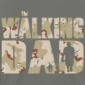The walking DAD camouflage used look mens T-Shirt - Men's Premium T-Shirt
