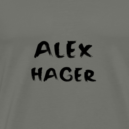 Alex Hager Painted Design - Men's Premium T-Shirt