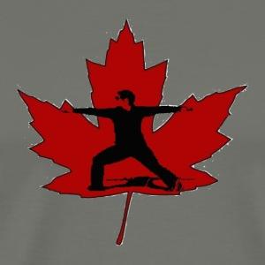 Canadian Warrior - Men's Premium T-Shirt