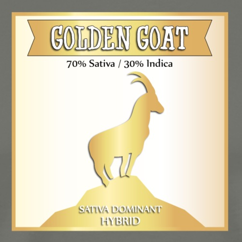 Golden Goat - Men's Premium T-Shirt