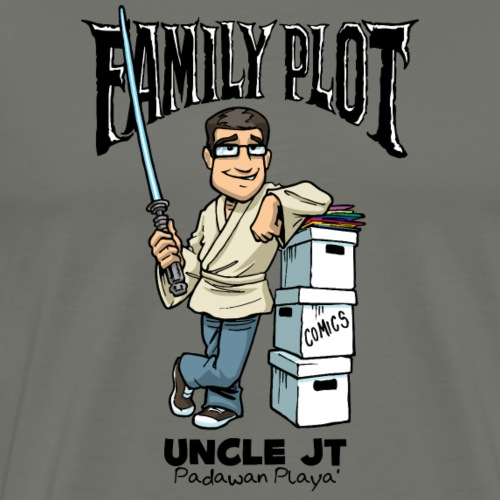 Uncle JT - Family Plot - Men's Premium T-Shirt