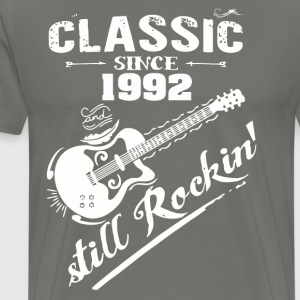 Classic Since 1992 and still Rokin - Men's Premium T-Shirt