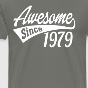 Awesome Since 1979 - Men's Premium T-Shirt