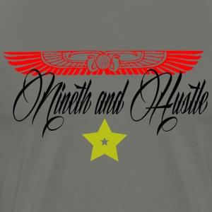 9Hustle Wings - Men's Premium T-Shirt