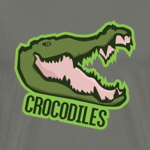 Crocodiles - Men's Premium T-Shirt