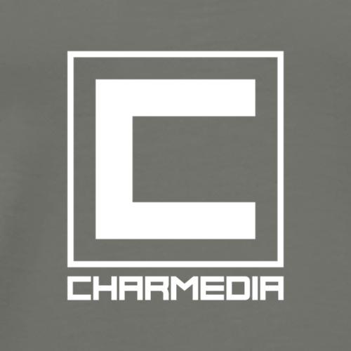 CHARMEDIA GROUP LOGO - Men's Premium T-Shirt