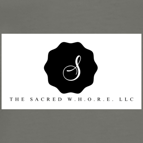 The Sacred W.H.O.R.E. LLC (Logo3) - Men's Premium T-Shirt