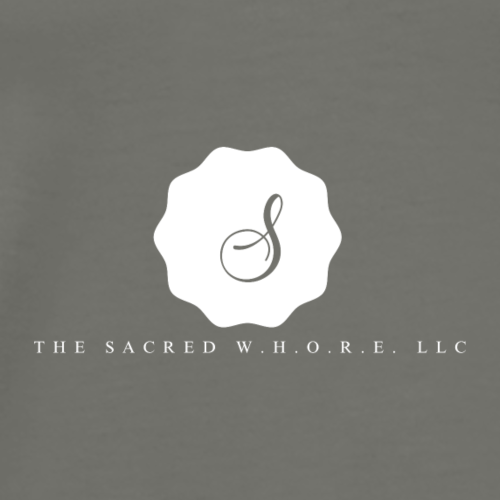 The Sacred W.H.O.R.E LLC (Logo4) - Men's Premium T-Shirt