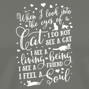 The Eyes of a Cat Shirt - Men's Premium T-Shirt