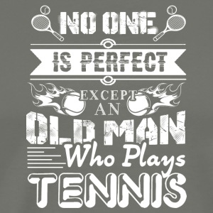 Tennis Old Man Shirt - Men's Premium T-Shirt