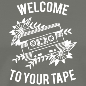Welcome to your tape - Men's Premium T-Shirt
