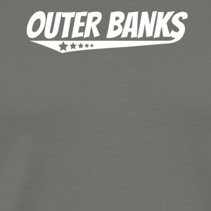 Outer Banks Retro Comic Book Style Logo - Men's Premium T-Shirt