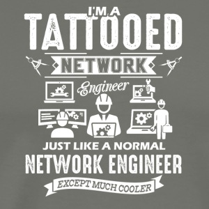 Tattooed Network Engineer Shirt - Men's Premium T-Shirt
