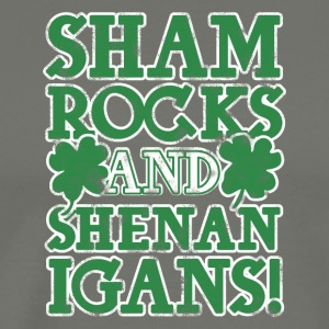 Sham rock and Shenanigans - Men's Premium T-Shirt