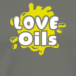 Love Essential Oils Tee Shirt - Men's Premium T-Shirt