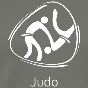Judo_white - Men's Premium T-Shirt