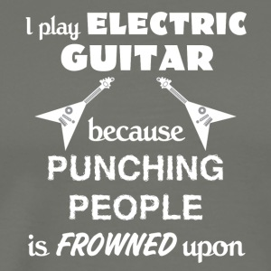 Electric Guitar Love Gift- cool shirt,geek hoodie - Men's Premium T-Shirt