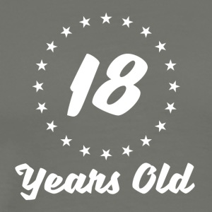 18 Years Old - Men's Premium T-Shirt
