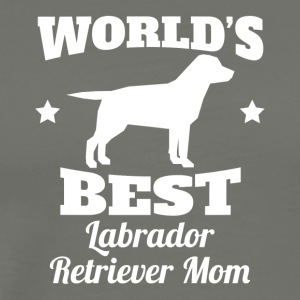 Worlds Best Labrador Retriever Mom - Men's Premium T-Shirt