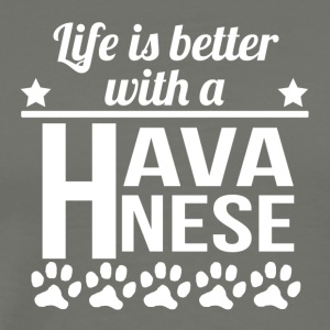 Life Is Better With A Havanese - Men's Premium T-Shirt